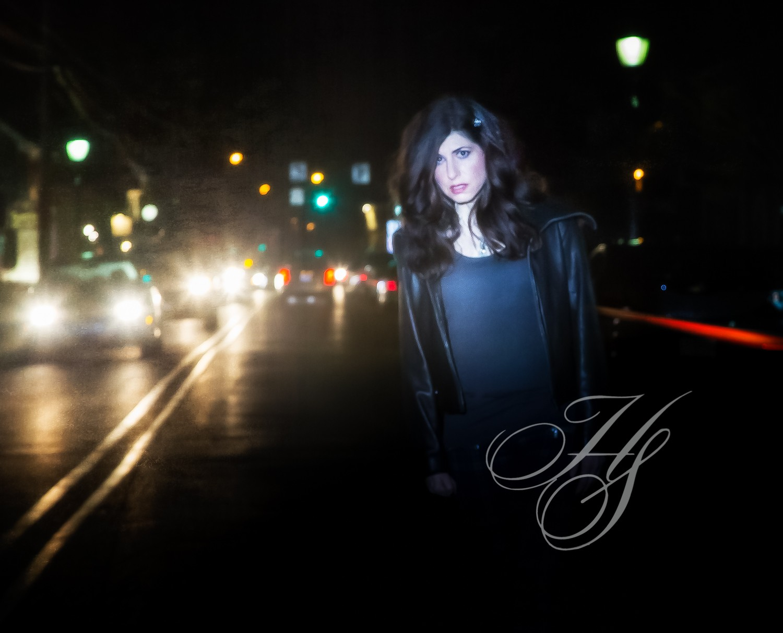 Heirloom Studio portrait, location shoot, night