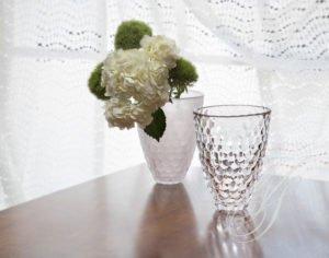Crystal Vase window light